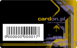 Karty lojalnościowe z kodem kreskowym